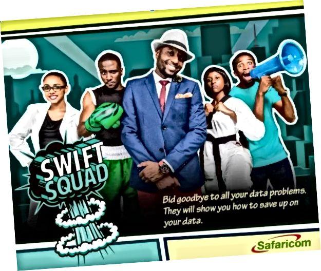 Tillstånd, Safaricom