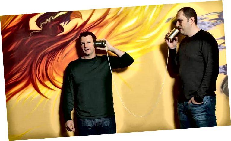 Brian Acton i Jan Koum
