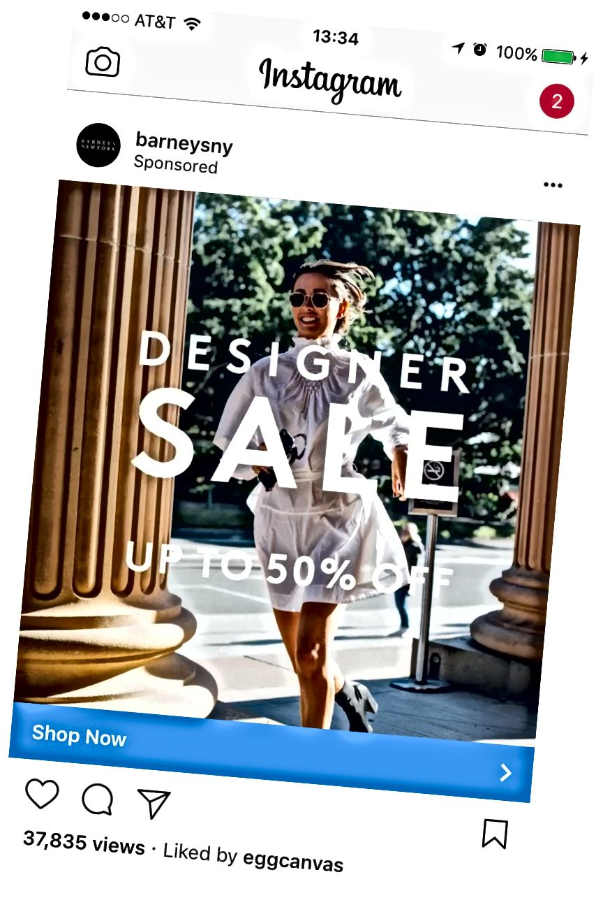 Strategije za Instagram oglase dolaze u atcha.