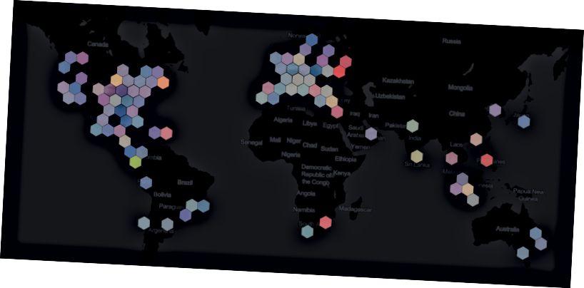 Samma karta, RYB-färgmodell