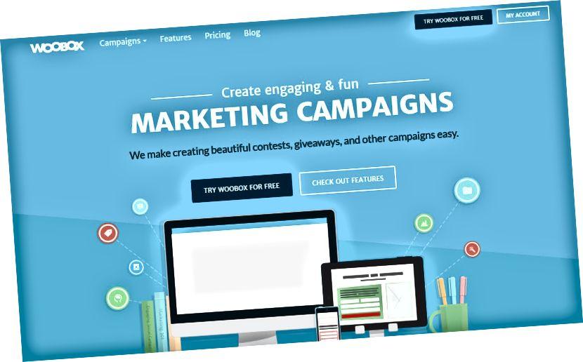 Woobox.om pro soutěže Instagram a prozradí kampaně