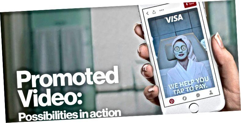 Reklaamitud automaatse esitamise videod on üks uuemaid reklaamiühikuid, mida Pinterest pakub.