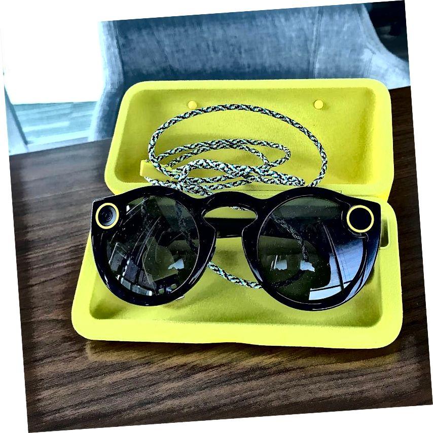Snapchat Spectacles ແມ່ນການປະດິດສ້າງຫຼ້າສຸດຂອງ Snap Inc. ມາລະຍາດຮູບພາບຂອງ: danpeerflix