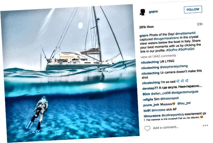 GoPro na Instagramu