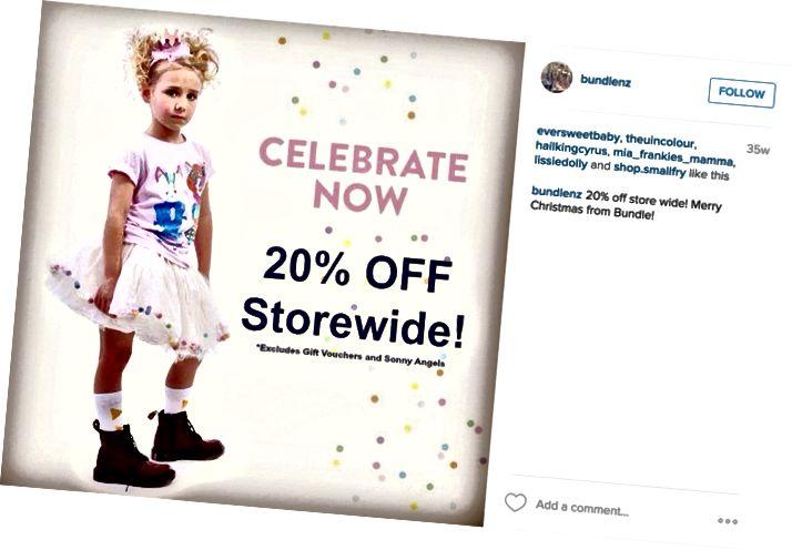Bundle Boutique na Instagramu