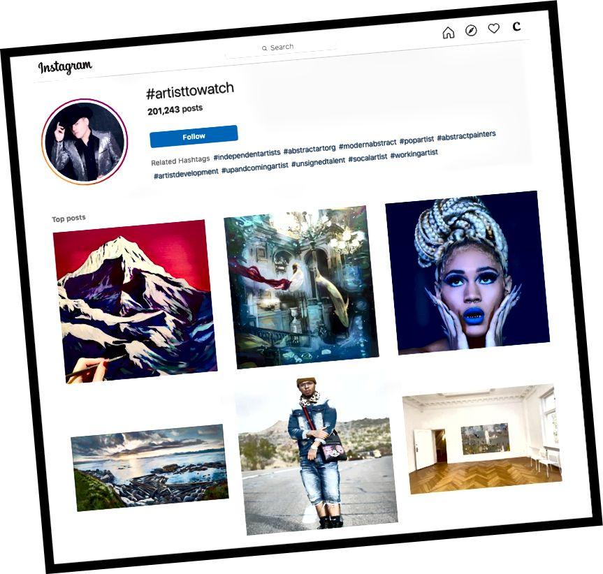 Pregledavanje Instagrama na računalu umjesto mog telefona olakšalo je upravljanje mojim hashtagovima nakon što sam pronašao one koje želim koristiti.