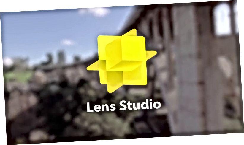 Bild vum Lens Studio vum Snap