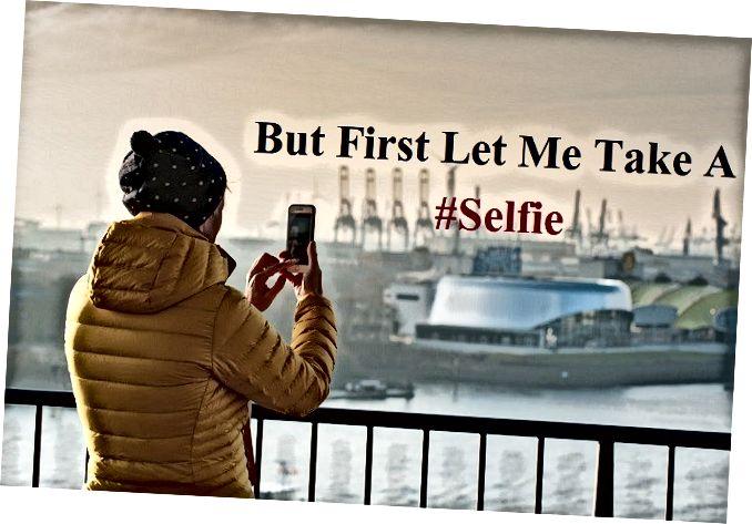 selfie textning