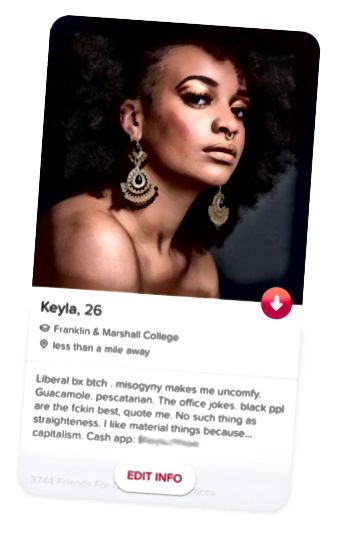 Sudionik panseksualne etnografije, Keyla