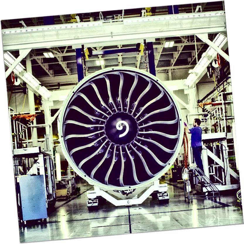 GE90 #Engine u #GE # Avijacija u Pebbles, OH. Snimio Adam Senatori. Najdraži GE'S Instagram
