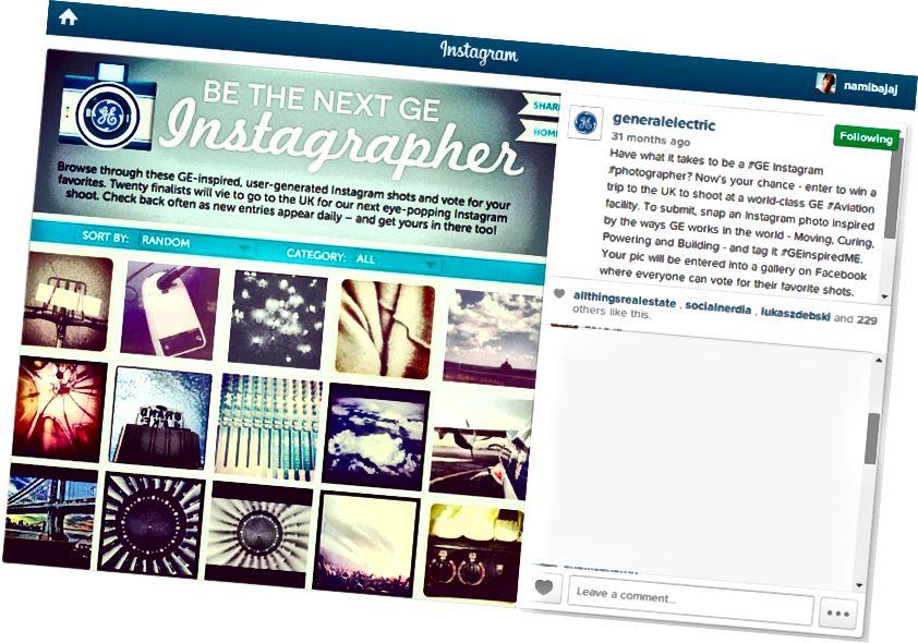 Natječaj stvoren jednostavnim hashtagom koji povećava sljedbenike marke na višestruke granice!