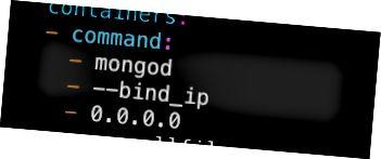 MongoDB სავალდებულოა ნებისმიერ ქსელში