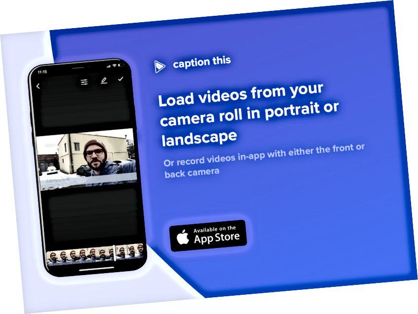 Bildunterschrift Diese App - Fügen Sie Ihren Instagram-Videos ganz einfach Bildunterschriften hinzu