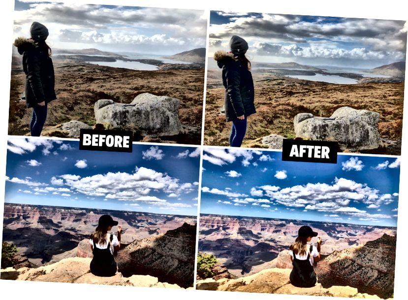 نمونه عکسهایی که با Snapseed در اینستاگرام خود ویرایش کردم.