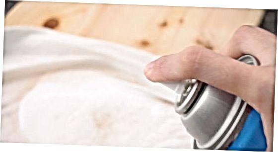 Spot Remover och varmt vatten