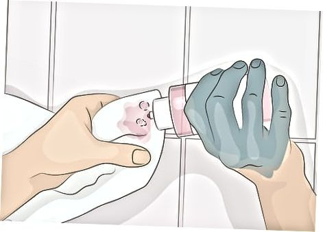 Získání akrylové barvy pomocí acetonu