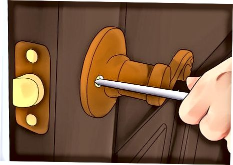 Příprava dveří na skvrnu