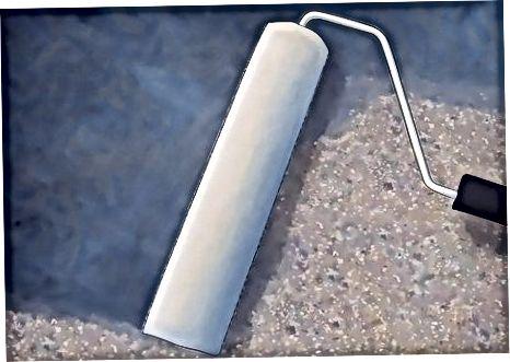 Третиране на бетон след офорт