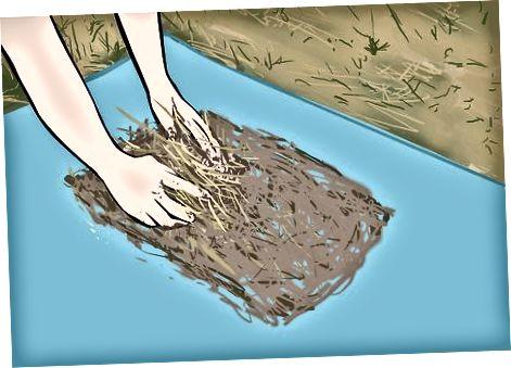 """Изработка на """"оцеляващ цимент"""" от кал и трева"""