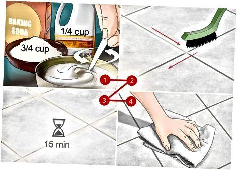 Använda hemlagade rengöringsmedel