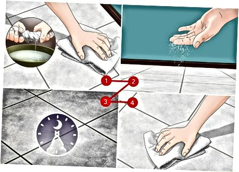 Izmantojot mājās gatavotus tīrīšanas līdzekļus