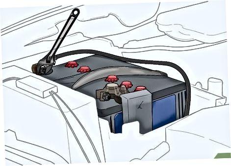 Lidhja e dritave, kutisë dhe baterisë