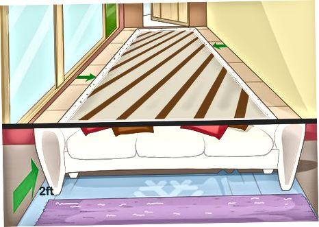 Vrstvení koberečků pro extra ostrost