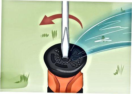 Ändra vattningens riktning och avstånd