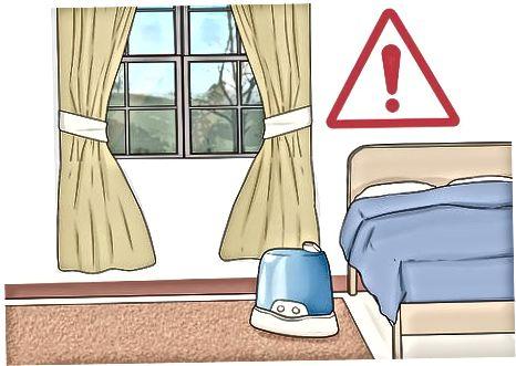Šilumos drėkintuvų pavojaus sumažinimas