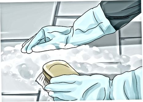 Förbereda travertin