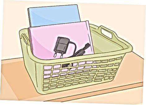 Organizando seu espaço