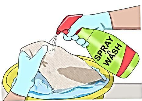 Praní prádla Bělením