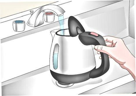 Օգտագործելով էլեկտրական թեյնիկ