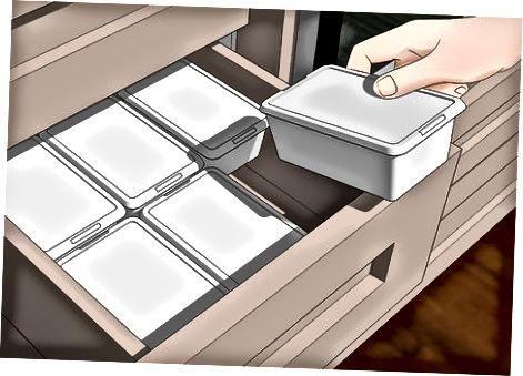 Организиране на шкафове и чекмеджета