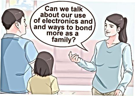 Încurajarea familiei dvs. imediată să se deconecteze