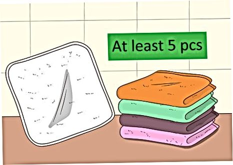Achiziționarea de articole de baie