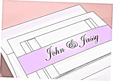 Приглашение гостей и участников свадебной вечеринки