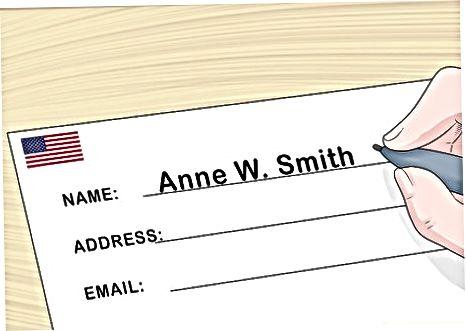 Schimbarea numelui în SUA