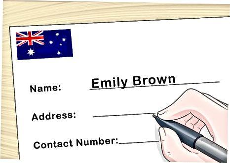 Schimbarea numelui în Australia