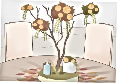 Utilizarea articolelor de recoltare pentru a decora