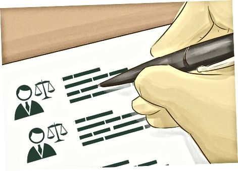 Considerând un avocat
