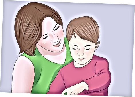 Primirea și părinții unui copil care îi primește