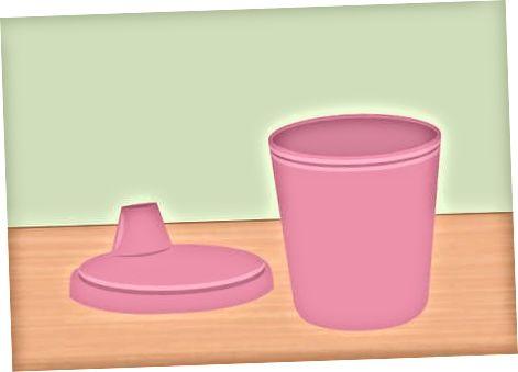 시피 컵 청소하기
