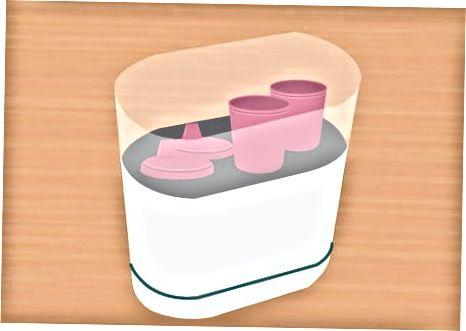 사이 피 컵 살균