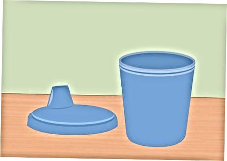 Sippy 컵의 곰팡이 예방 다른 방법