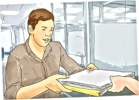 Depunerea documentelor