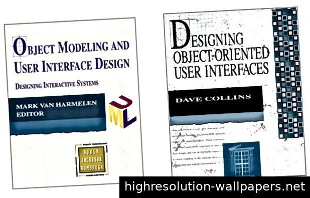 Bücher, die objektorientiertes Interface-Design fördern. Sie können diese noch heute über Amazon erwerben.