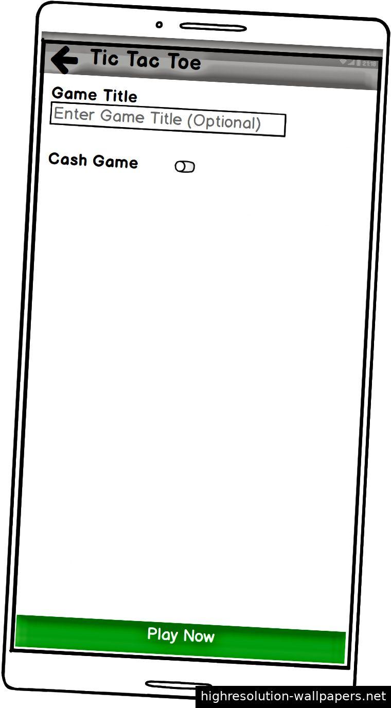 Bildschirm 4: Tic Tac Toe spielen (kostenlos)