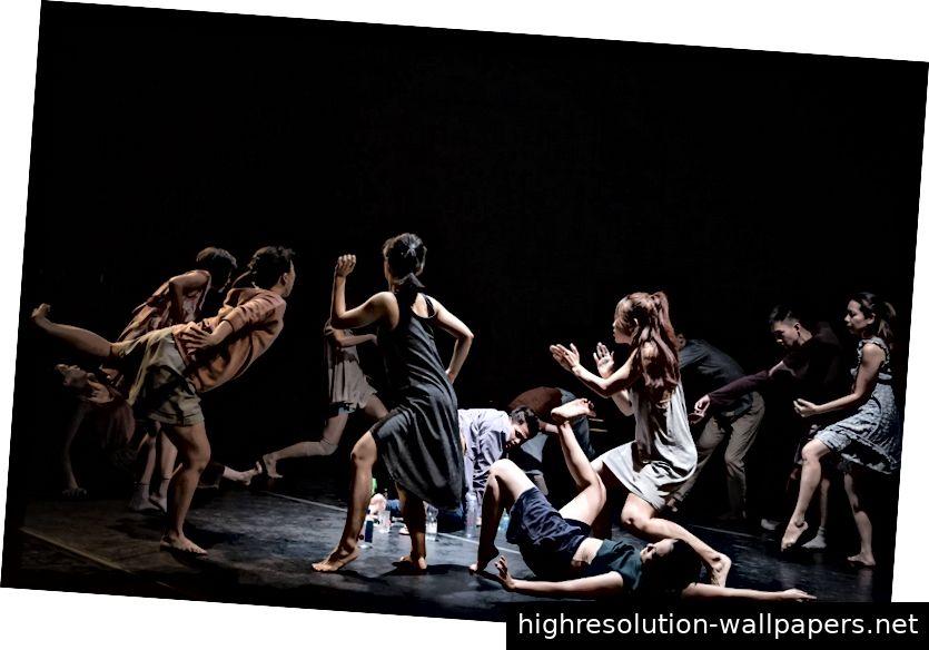 Bild 2: Zeitgenössische Tanzpraxis