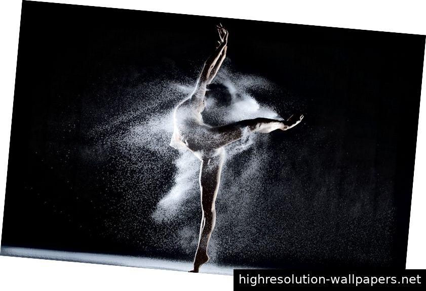 Bild 3: Feinfühlige Bewegung des Balletttänzers